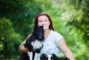 Nicol so svojimi psíkmi. Pandy a Riško pred jej objektívom často nie sú.