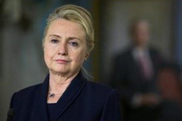 Americká ministerka zahraničných vecí Hillary Clintonová.