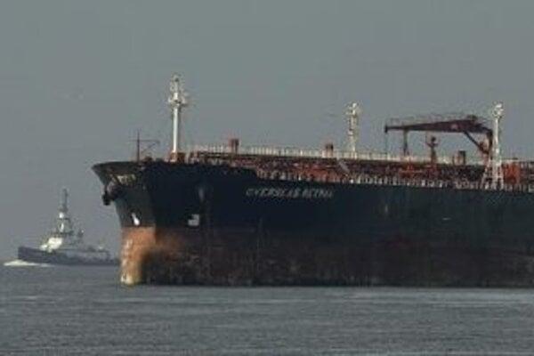 Tanker Overseas Reymar pri San Franciscu.