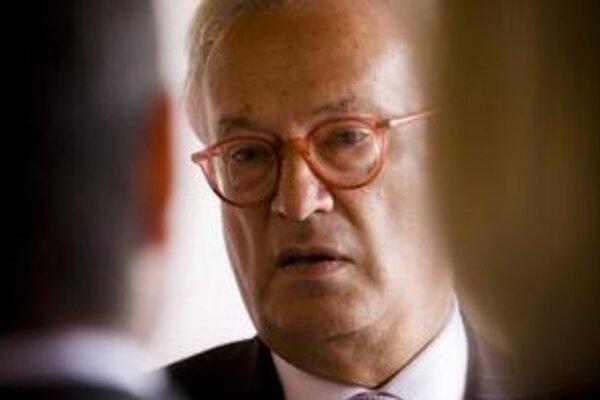Europoslanec Hannes Swoboda.