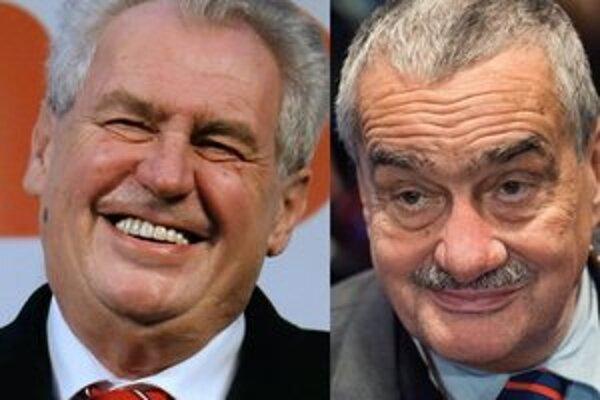 Česi si budú voliť prezidenta v druhom kole 25. a 26. januára 2013.