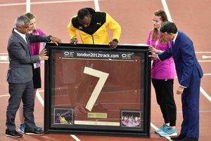Usain Bolt dostal od organizátorov krásny dar.
