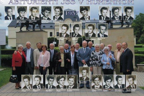 Maturovali v roku 1957, stretli sa po 60 rokoch.