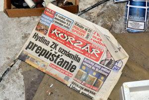 V kancelárii sme natrafili aj na vydanie Korzára z roku 2007. Aktuálne sa v ňom písalo o prepúsťaní v hydinárni,  susednej prevádzke mlynu .
