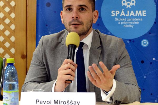 Výkonný riaditeľ IT Valley Košice Pavol Miroššay.