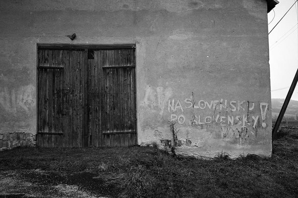 Jedna z fotiek séria Na Slovensku po slovensky, s ktorou vyhral Marek Pupák jednu z kategórii Slovak press foto.