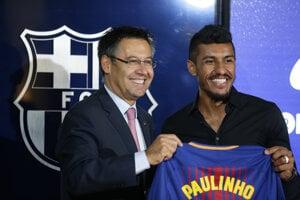 Paulinha oficiálne predstavili v Barcelone.