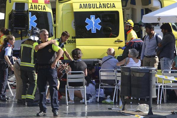 Takto to vyzeralo po teroristickom útoku v Barcelone.