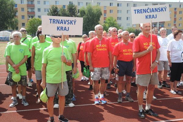 Súťaže sa zúčastnili športovci zcelého Slovenska.