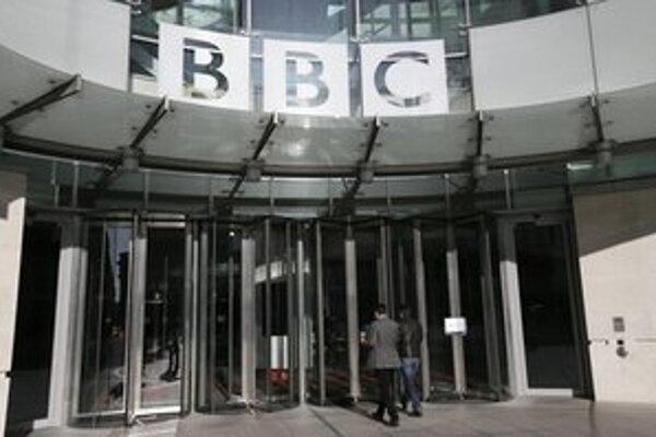 Sídlo BBC v Londýne.