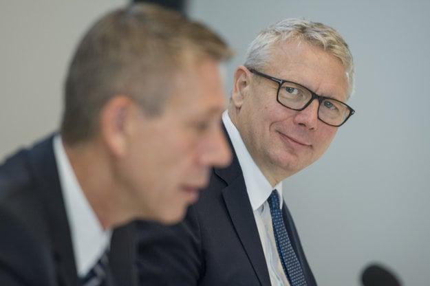 Jens Kellerbach (vpravo) a Ralf Sacht (vľavo).
