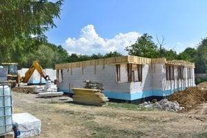 Výstavba dvoch nájomných bytových domov vTužine.