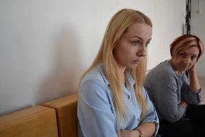 Veronika s mamou Tatianou V čase incidentu, keď dostala za nedorozumenie v obchode facku, mala sedemnásť.