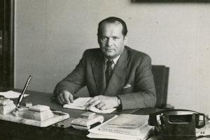 Imrich Karvaš bol ako guvernér národnej banky za druhej svetovej vojny pri rokovaniach s Nemcami tvrdým vyjednávačom.