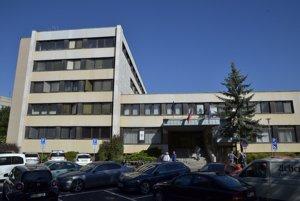 Budova MsÚ v Poprade.