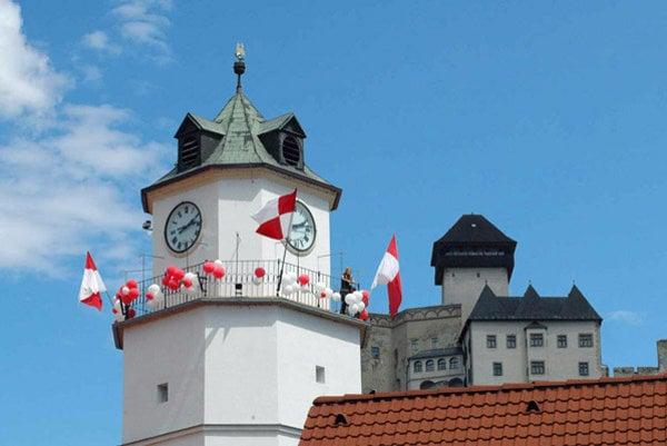 Mestská veža v Trenčíne.