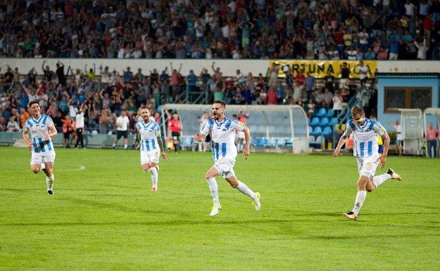 Po poisťovacom góle Charizopulosa na 3:1 bude asi treba zavolať na štadión statikov.