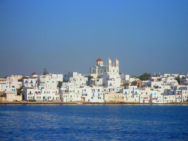 Ostrov Paros, Grécko.