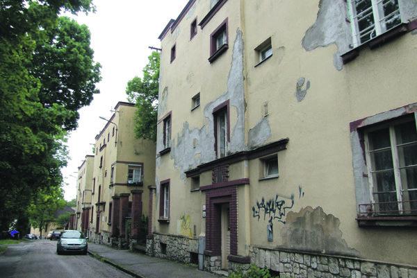Bytové domy na Misionárskej ulici.