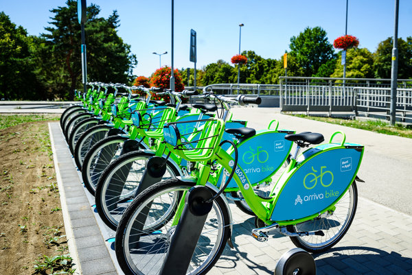Bude v Žiline fungovať bikesharing? Nedávno systém spustili v Nitre.