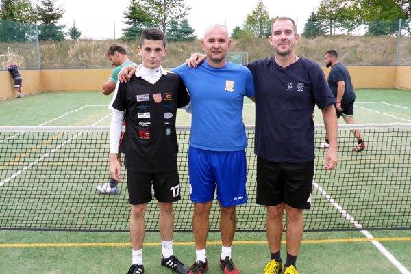 Turnaj v Červenom Hrádku vyhral tím NK Vinodol.