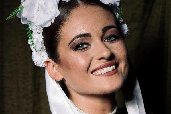 Prešovská finalistka Miss Folklór Lucia Malagová. Vyhrá?