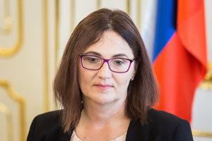 Nová ministerka školstva Martina Lubyová.