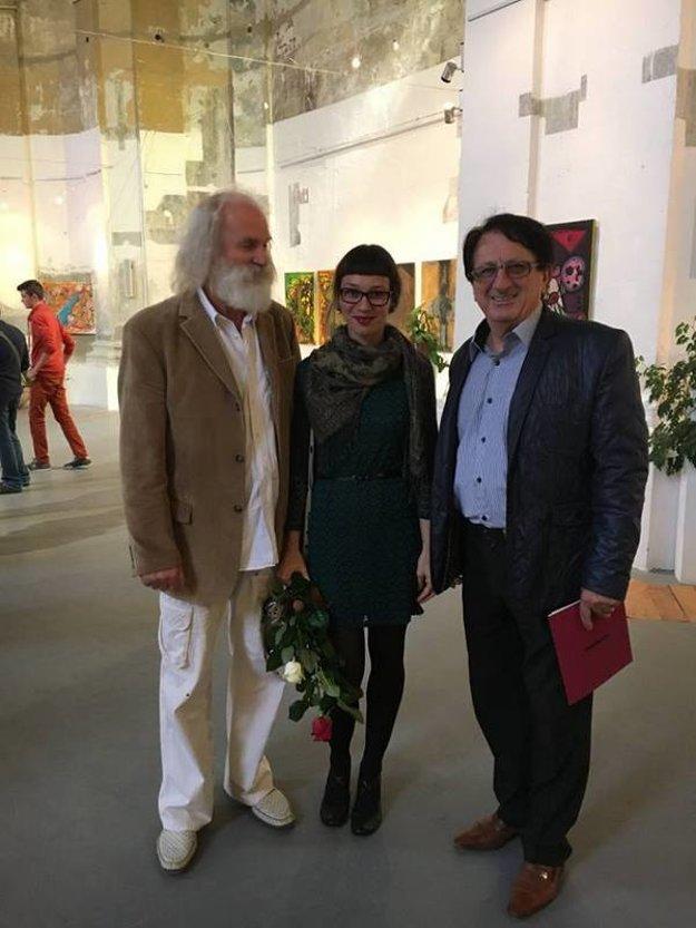 Stretnutie Milana Urbániho s umelcami.