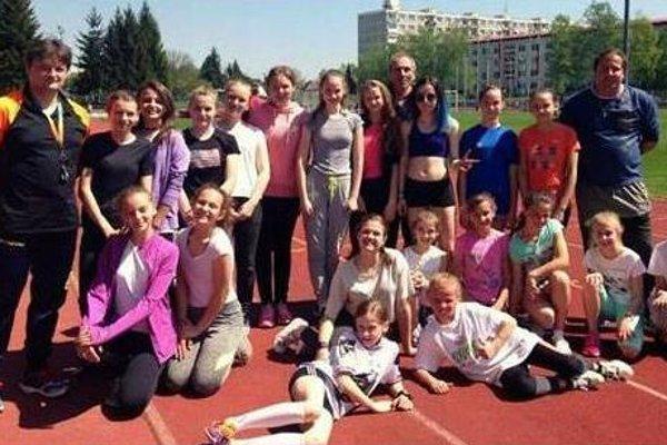 Dievčatá AK Čadca ovládli záverečné kolo Majstrovstiev Stredoslovenského atletického zväzu.