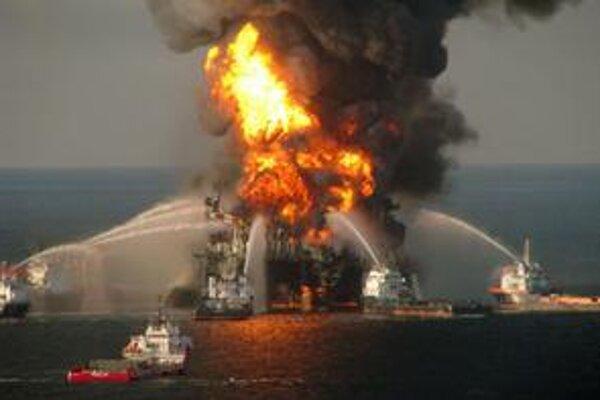 Nehoda na ropnej plošine Deepwater Horizon.