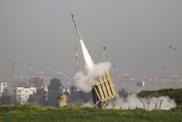 Izraelský protiraketový systém v Ašdode.