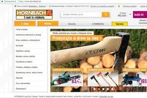 Hornbach spustil e-shop.