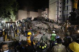 Zemetrasenie v Mexiku.