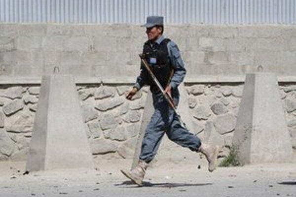 Afganský policajt.