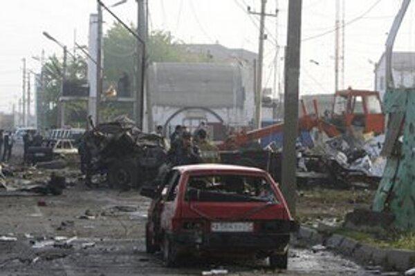 Po výbuchu v Dagestane.