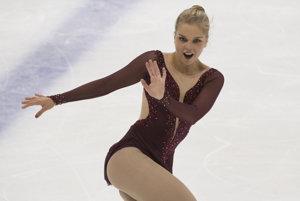 Najlepšia zo Sloveniek skončila podľa očakávania Nicole Rajičová.
