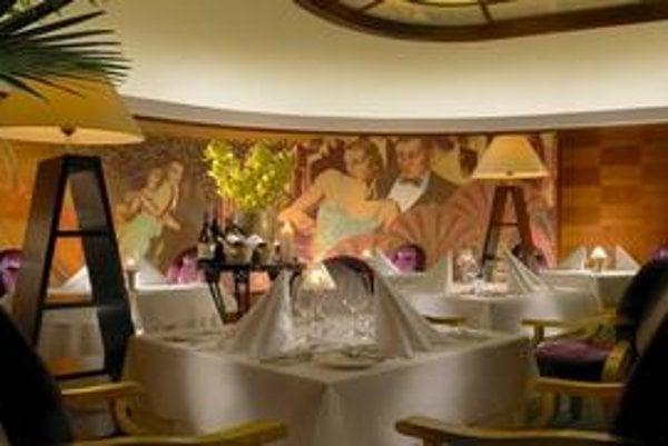 Hviezdu od inšpektorov Michelin dostali dve pražské reštaurácie. Na snímke je ocenená reštaurácia Alcron.