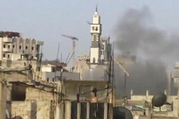 Boje v Sýrii prebiehajú najmä v mestách.