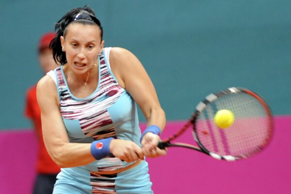 Uzbecká tenistka Iroda Tuľaganovová, ilustračná snímka.