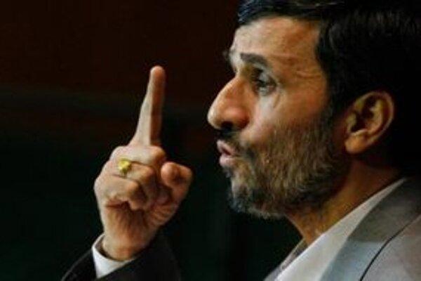 Iránsky prezident Mahmúd Ahmadinedžád.