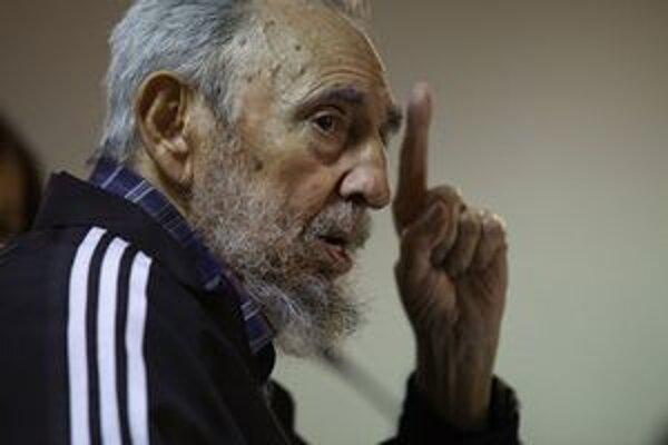 Fidel Castro zažil deviatich amerických prezidentov. Začiatkom tohto roka prezentoval svoju knihu.