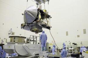 Konštrukcia sondy OSIRIS-REx.