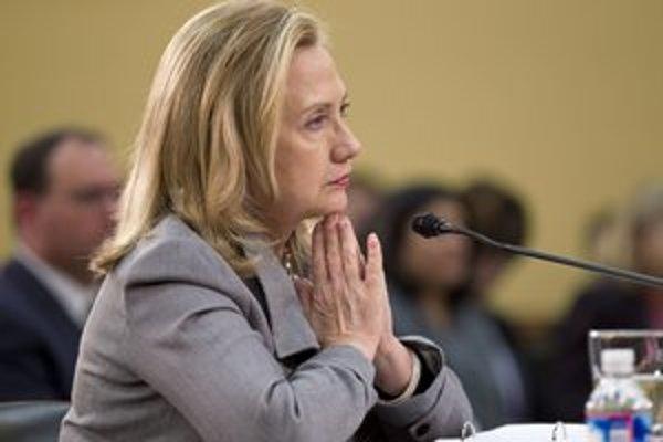 Americká šéfka diplomacie Hillary Clintonová.