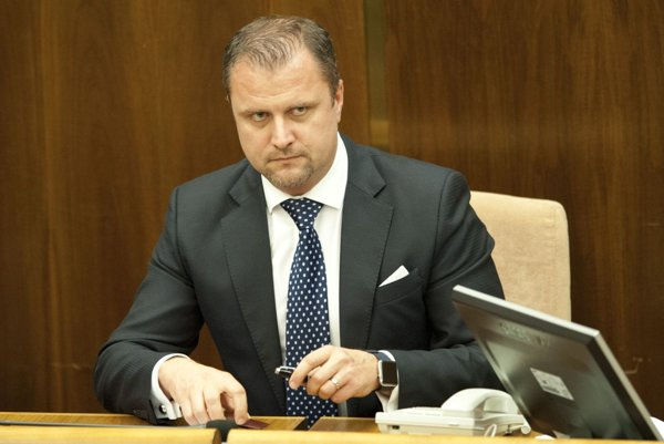 Andrej Hrnčiar, poslanec za stranu Most-Híd a primátor Martina.