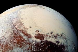 Trpasličia planéta Pluto.