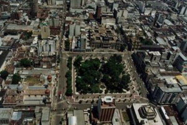 Centrum mesta Santiago del Estero.
