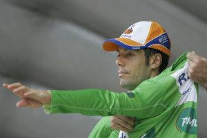 Oscar Freire získal zelený dres na TdF v roku 2008.