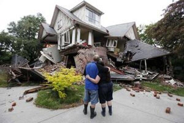 Christchurchom otriasajú zemetrasenia od septembra 2010.