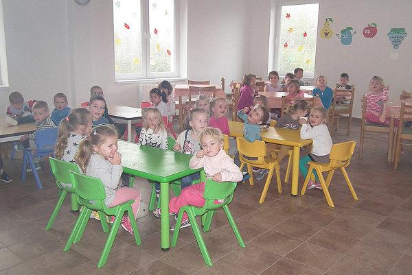 Deťom sa vnových priestoroch páči.