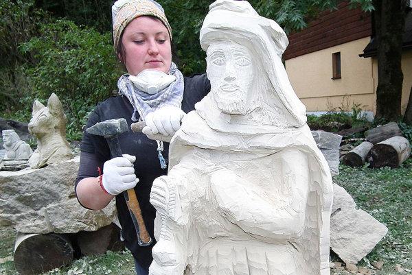 Barbora Tekeľová robila jedného ztroch kráľov.
